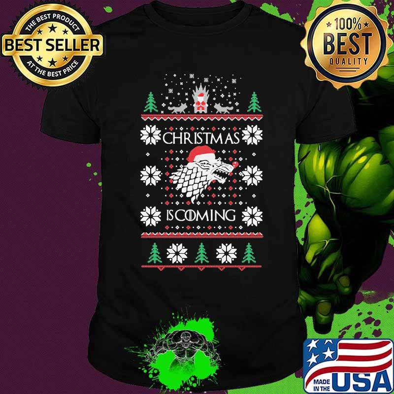 Christmas Is Coming Santa Clause Merry Xmas Shirt