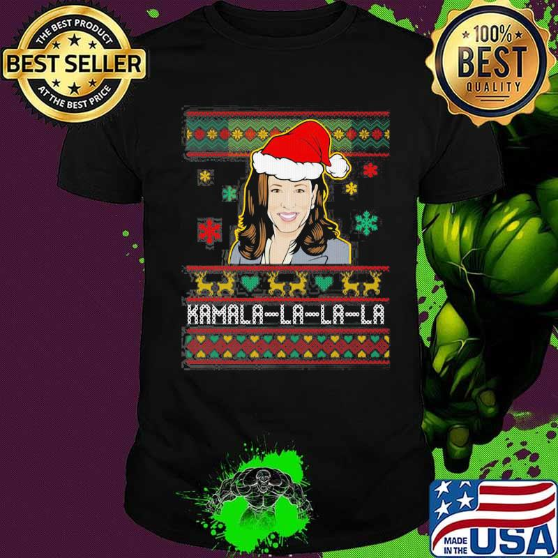 Kamala Harris Wear Hat Santa Merry Xmas Shirt