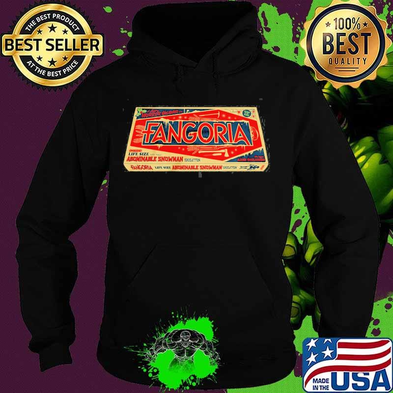 Official Fangoria Trademark Carton Box Shirt Hoodie