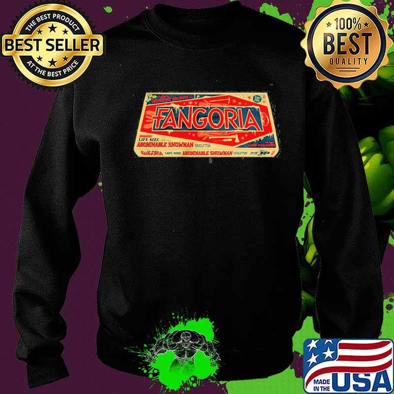 Official Fangoria Trademark Carton Box Shirt Sweater