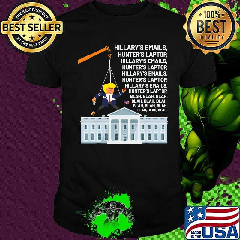Official I Easily Won Trump Won't Concede So Use A Crane White House Shirt