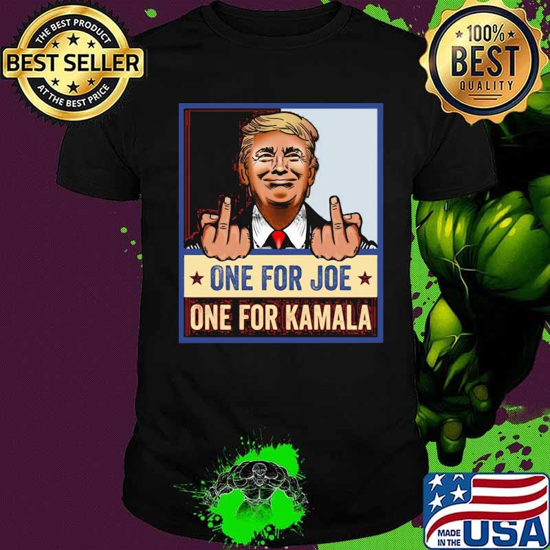 One For Joe One For Kamala Donald Trump Election Shirt