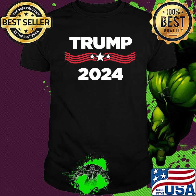 Trump 2024 Stars Election American Flag Shirt