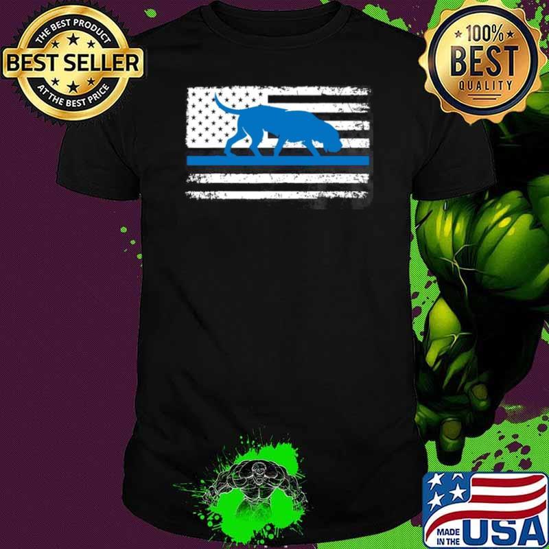 American Flag Bloodhound K9 Police Thin Blue shirt - Copy