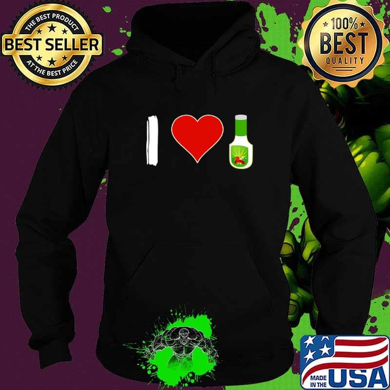 I Love Ranch Food Vegan Vegetarian Hoodie