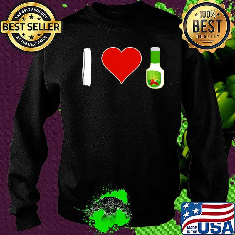 I Love Ranch Food Vegan Vegetarian Sweater