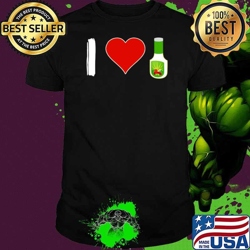 I Love Ranch Food Vegan Vegetarian shirt