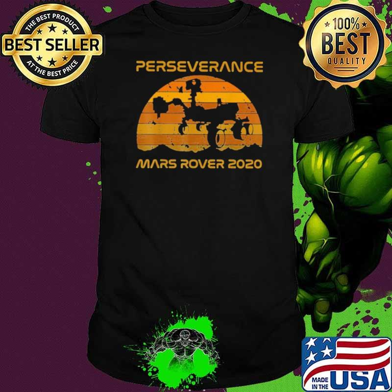 Perseverance Mars Rover 2021 Sunset Vintage shirt
