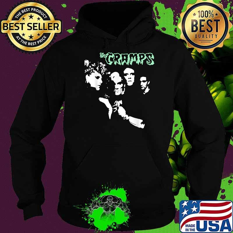Cramps's Love Band Music 2021 Legends Live Forever Shirt Hoodie
