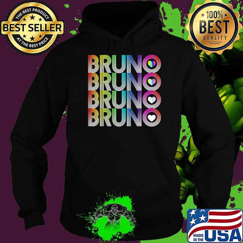 I love Bruno LGBT Shirt Hoodie