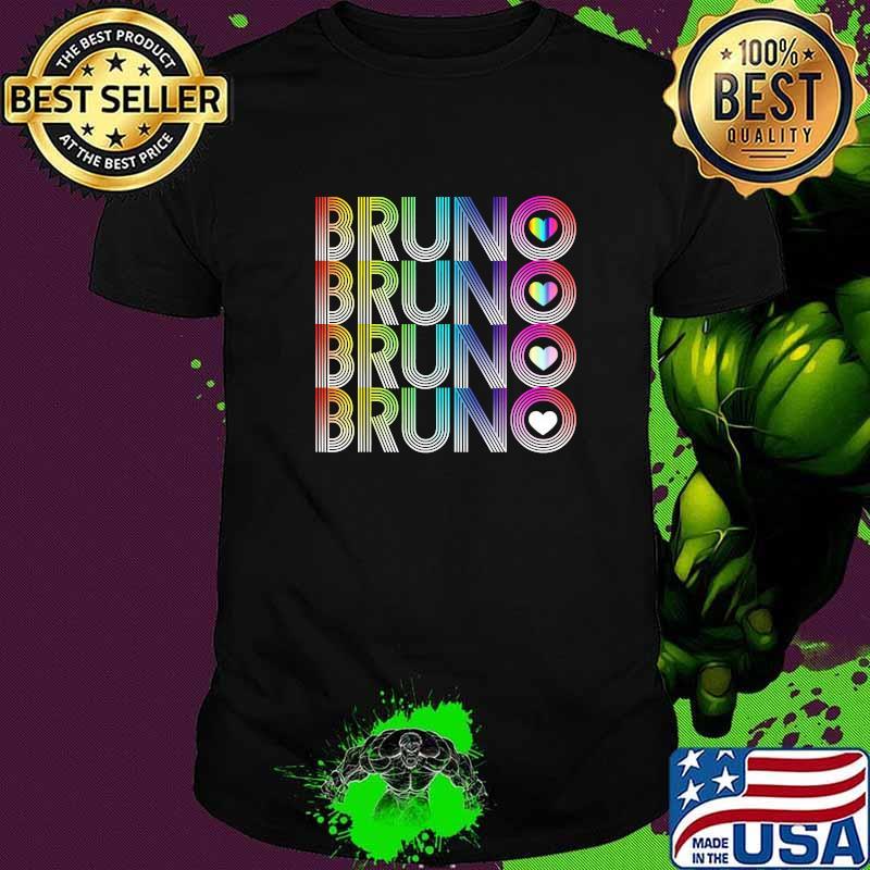 I love Bruno LGBT Shirt