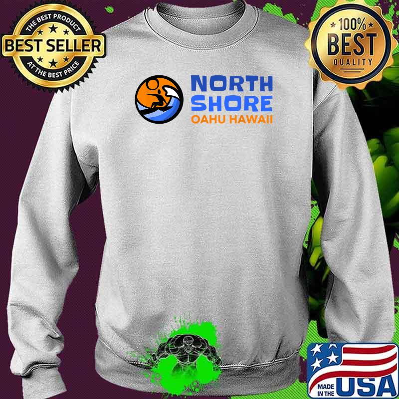 North Shore Oahu Hawaii Surfing Shirt Sweater