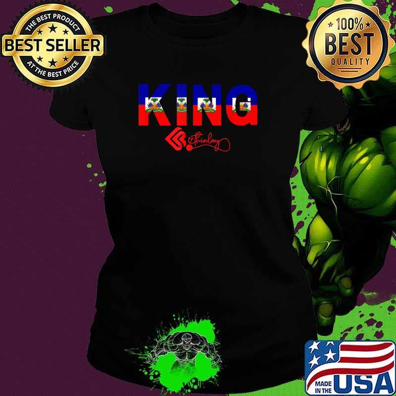 Official Haitian King Shirt Ladies tee
