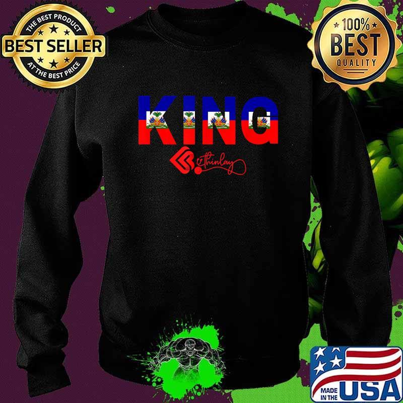 Official Haitian King Shirt Sweater