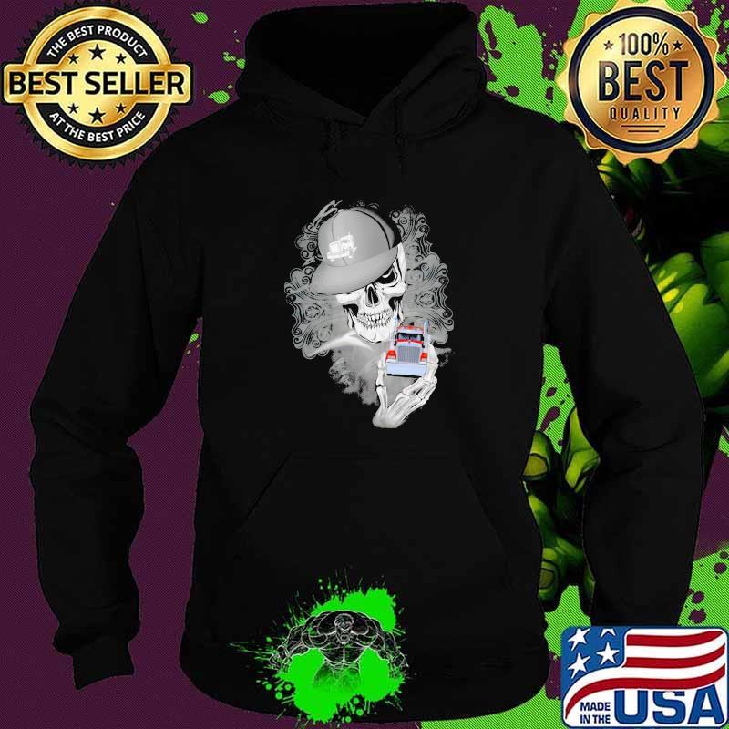 Official Skull Cap Trucker Shirt Hoodie