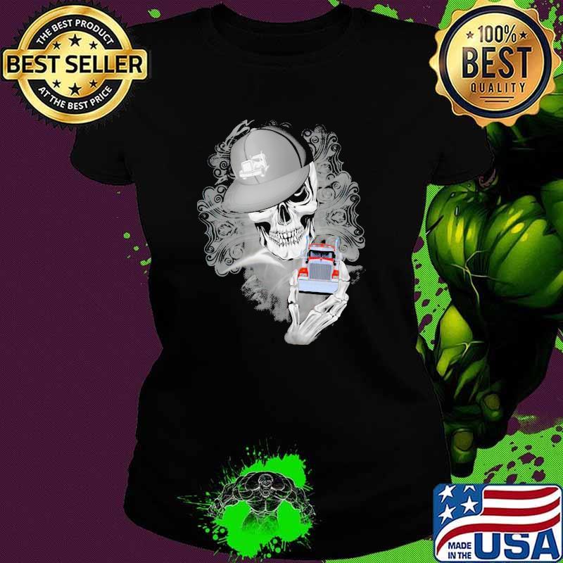 Official Skull Cap Trucker Shirt Ladies tee
