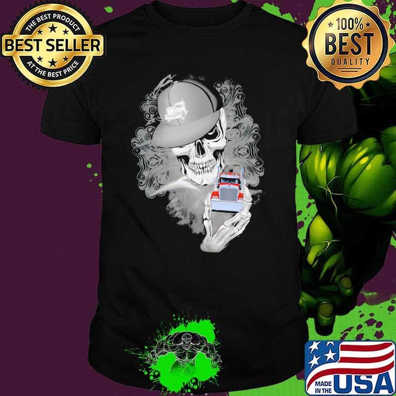 Official Skull Cap Trucker Shirt