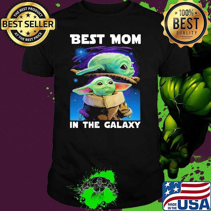 Best Mom In The Galaxy Yoda Shirt