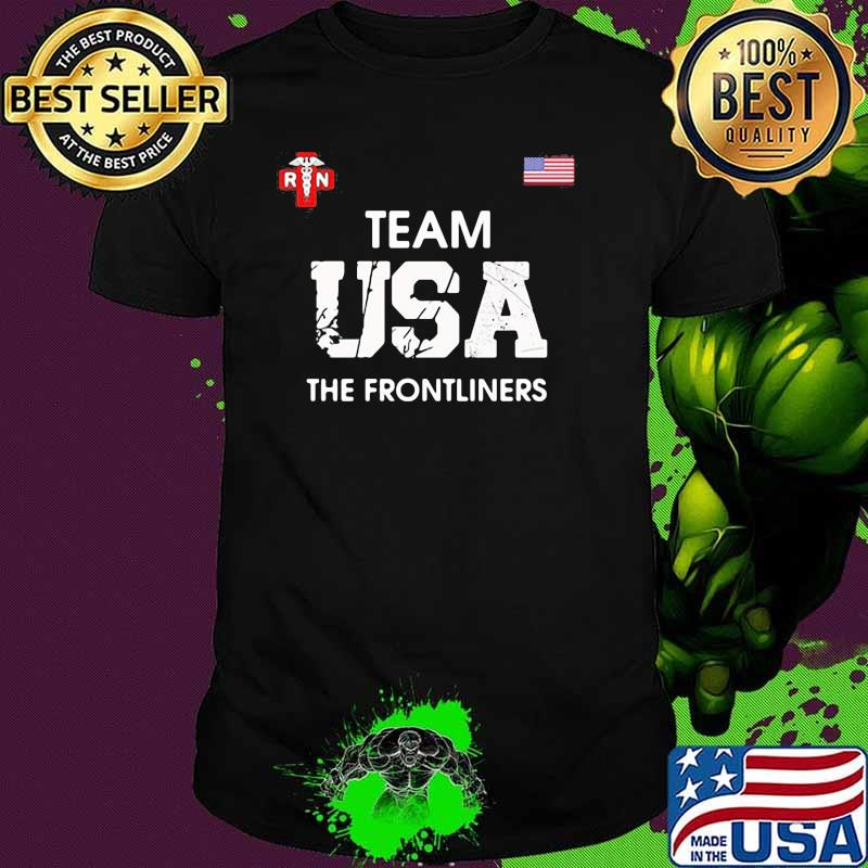 Team USA The Frontliners American Flag Shirt